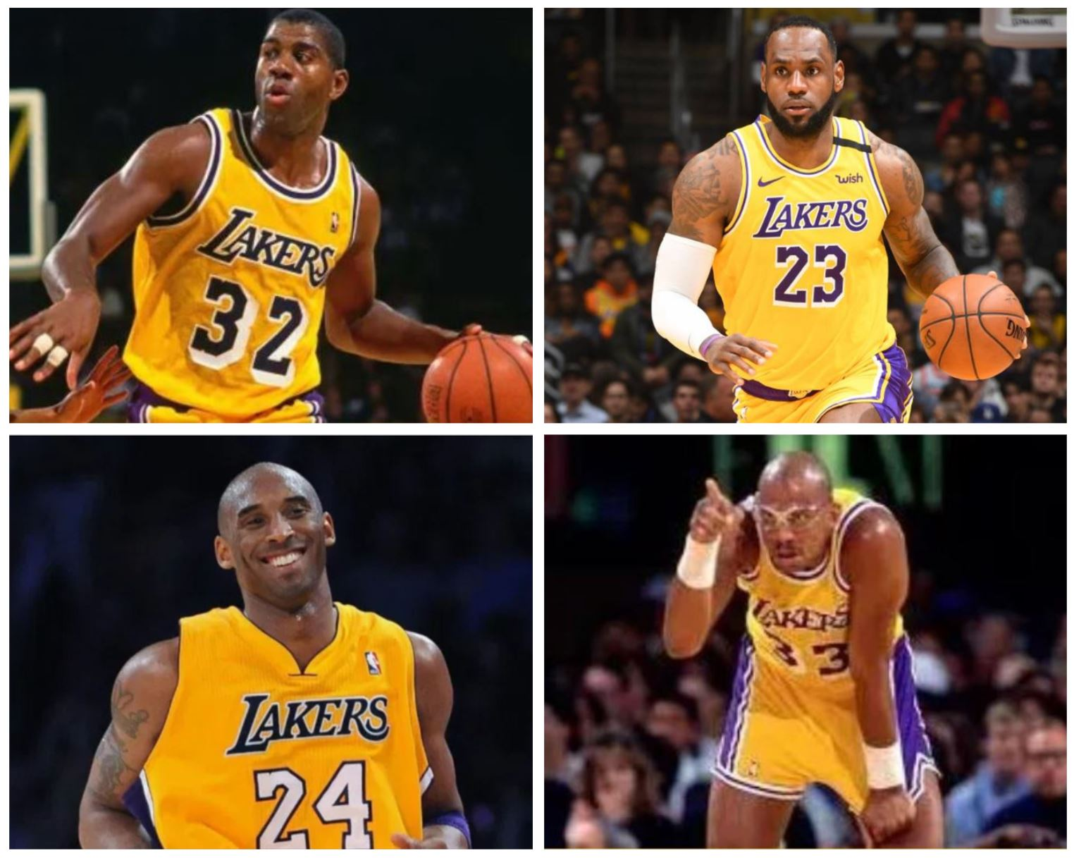 Which Laker Superstar in Their Prime Would You Select to Start a Franchise?
