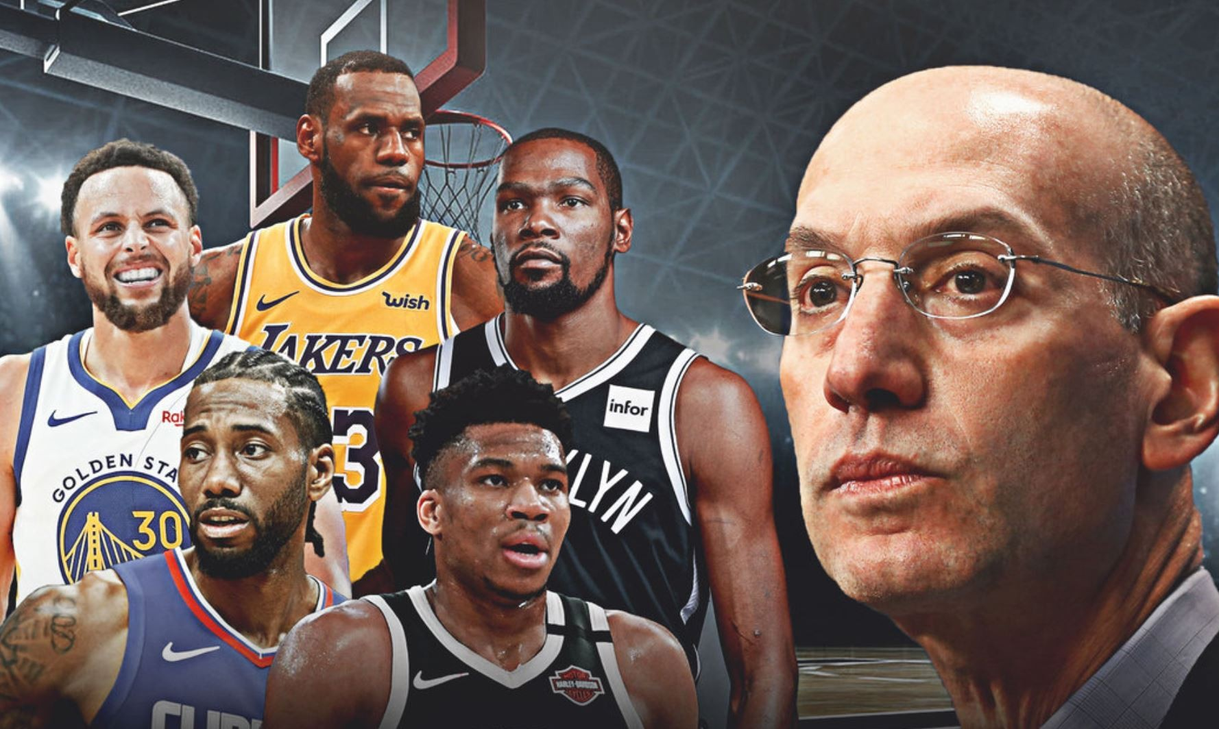 The Future of the NBA Is On the Line. Just What is Adam Silver Going to Do?