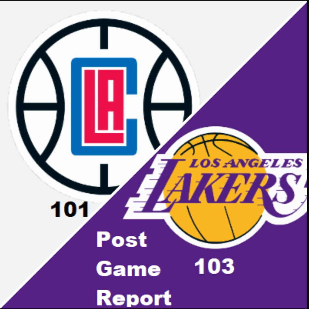 Lakers Fast Break- Laker-Clippers Post Game Report