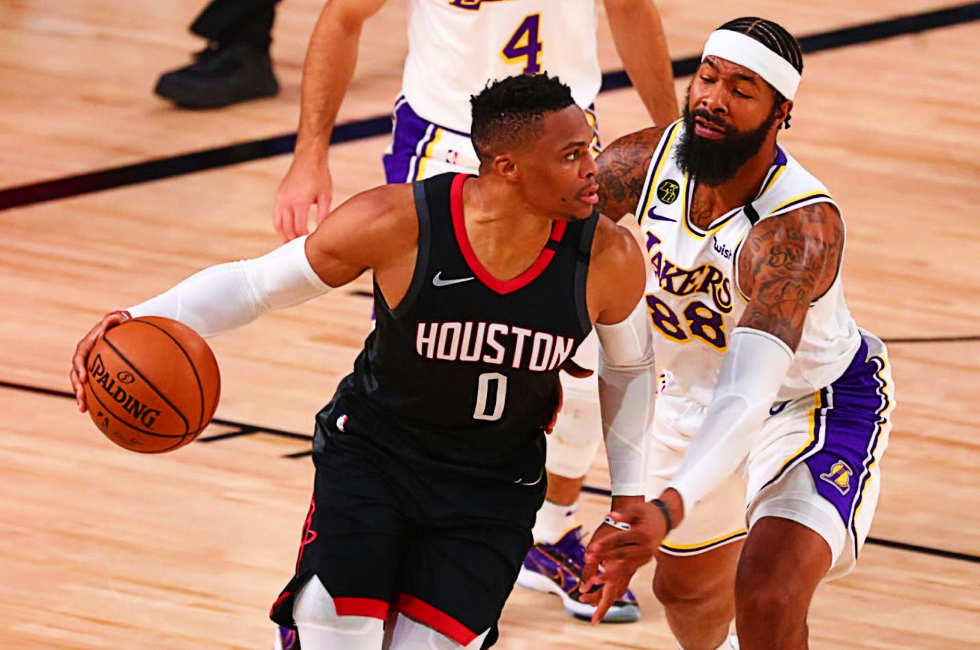 Morris or McGee? Who Starts for the Lakers in Western Conference Finals?